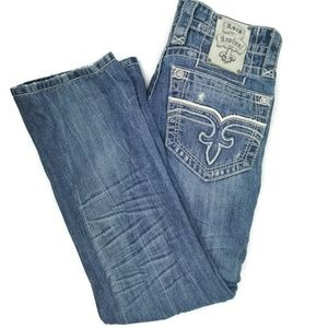Rock Revival Curtis Straight Fit Mens Jeans 29